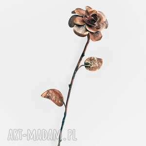 róża z miedzi unikatowy prezent, kwiat, roża, prezent, miedź, oryginalna