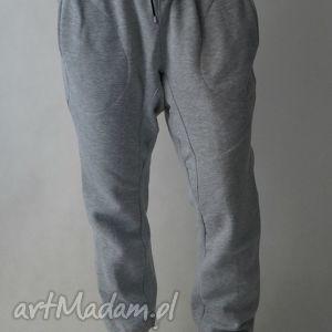 spodnie baggy lilyo rozm szare- xl, czarne- xxl, baggy, obniżonykrok, dresowe