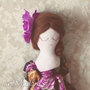 różana bajka - lalka wendy, lalka, wróżka, kwiatowa, retro, herbaciane, róże dom