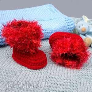 ręcznie zrobione buciki kozaczki sion