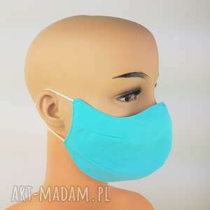 maseczki jasna turkusowa maseczka chirurgiczna, antysmogowa