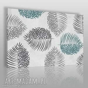 obraz na płótnie - natura liście 120x80 cm 39902, liście, natura, spokojny
