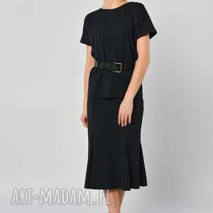 spódnice kokorycz - elegancka spódnica, jersey, midi