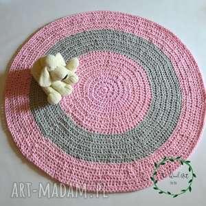 szydełkowy dywan ze sznurka, dywanik, dywan, zesznurka, szydełkowy, bawełniany