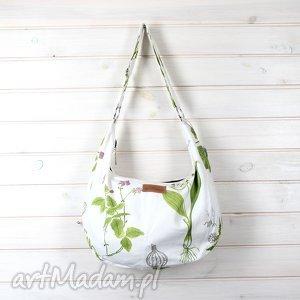Prezent Jasna torba na ramię hobo natura, torebka, pojemna,