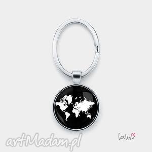 breloki brelok do kluczy świat, ziemia, mapa, mapy, planeta, kosmos, kontynenty