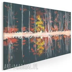 obraz na płótnie - abstrakcja natura pejzaż 120x80 cm 703901