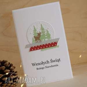 świąteczny prezent Kartka świąteczna, święta, zimowa, kartka, kartki