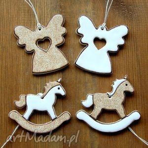handmade pomysł na świąteczny upominek aniołki i koniki