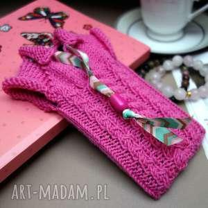 pod choinkę prezent, sweterek na smartfona, etui, oryginalne, dziergane