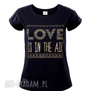 T-SHIRT LOVE R. L , t-shirt, czarna, love