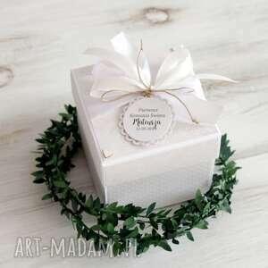 Pomysł na prezent pod choinkę! Pudełko kartka pierwsza komunia