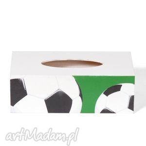 chustecznik - pudełko na chusteczki piłka nożna, chustecznik