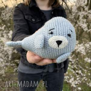 mała foka - maskotka dla dzieci, foka, maskotka, zabawka, oryginalna