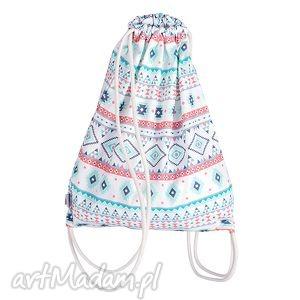 Worek Plecak Bawełniany - Aztec, plecak