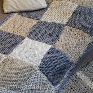 patchworkowy pled, koc, narzuta, patchwork
