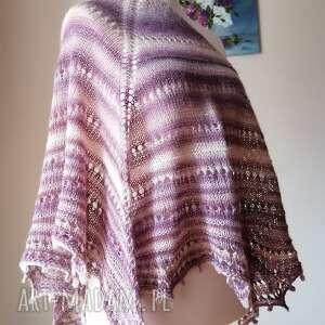handmade chustki i apaszki magnolie pudrowo-różana chusta