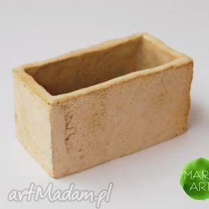 dom ceramiczny wizytownik, wizytówki, pojemnik, ceramika, rękodzieło
