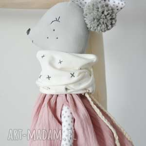 handmade zabawki sarenka gloria różowa