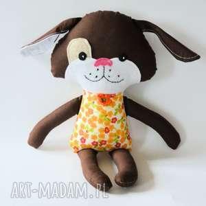 pies kejter - monia 44 cm, pies, kejter, urodziny, maskotka, przytulanka