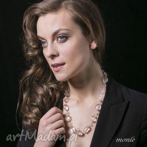 bryłki lodu naszyjnik monle - biżuteria, kryształ kobiecy