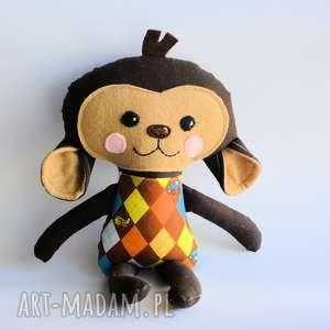Małpka Sławek - wersja S 35 cm, małpka, elegant, wersjas, dziecko, chłopczyk