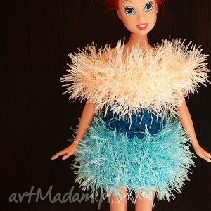 hand made lalki sukienka dla barbie