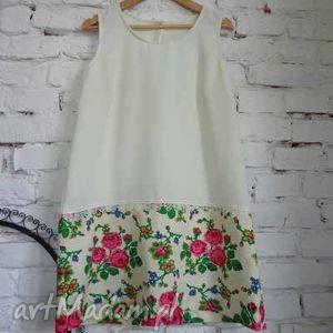 zwiewna sukienka Folk Design , folk