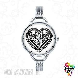 hand-made zegarki zegarek z grafiką kocham kurpie