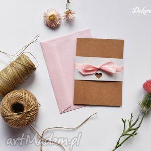 zaproszenie ślubne valeska, zaproszenia, ekologiczne, eko, eco, perłowe