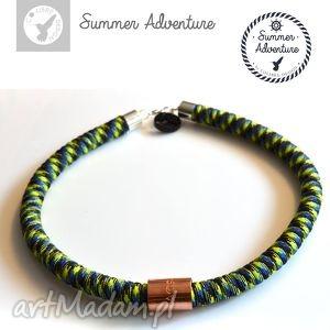 naszyjnik summer adventure - model salamandra - nowoczesny, designerski