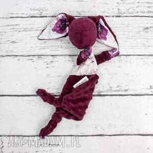 hand-made dla dziecka luluś królik - niemowląt króliki w malwach