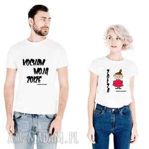 tailormade koszulki dla par kocham moją zołzę - zołza, dlaniej, dlaniego, naślub