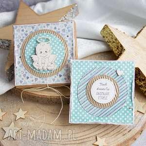 handmade kartki pudełeczko z kartką pełne uczuć i słów. Na każdą okazję. Urocza