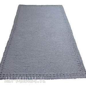 święta, dywan dziergany prosty, sznurek, eko dywan, chodnik