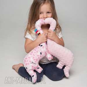 minky and cotton mięciutki dinozaur - bawełna tygrys, pluszak, zabawka