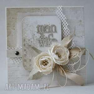 Ślubna elegancja - w pudełku - ślub, pamiątka, zaproszenie, gratulacje