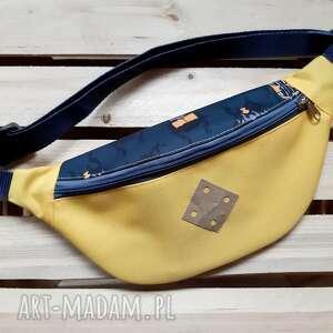 Torebka biodrowa nerka żółta nerki catoo accessories nerka