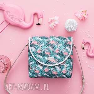 farbotka torebka puro summer 1058 flamingos, flamingi, printy, puro, modna, stylowa