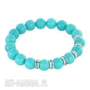 zircons & stones - scuba blue jade - cyrkonie