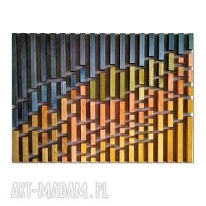 obraz z drewna, dekoracja ścienna /51 -pustynia/, obraz, drewniany