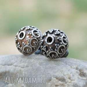 Prezent Eleganckie kolczyki sztyfty ze srebra a242, eleganckie-sztyfty