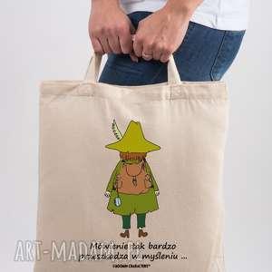 hand-made licencjonowana torba muminki mówienie tak bardzo przeszkadza