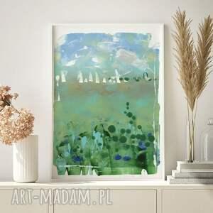 plakaty plakat 50x70 cm - pejzaż1