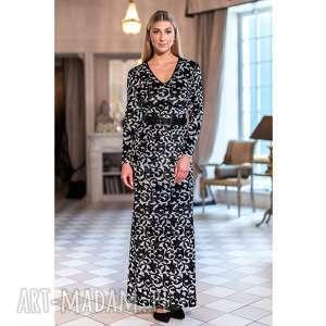 Sukienka Sarah, wzorzysta