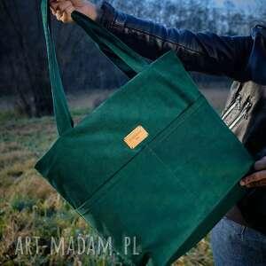 Torebka, torba, shopper bak, a4 butelkowa piąteczka torebki