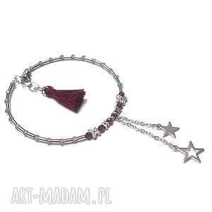 Alloys collection garnet star - bransoletka ki ka pracownia stal