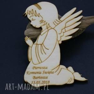 magnesy zamówienie specjalne - komplet aniołków magnesów, aniołki, komunia