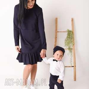 latori - sukienka damska z kolekcji mama i córka lm49/4, dokarmienia