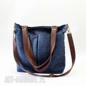 4324026c7ce38 torba kieszeniami torebka - Na ramię handmade - sportowa